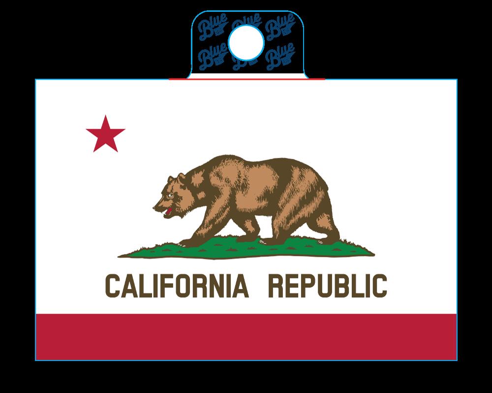 Sticker STATE FLAG SCREEN
