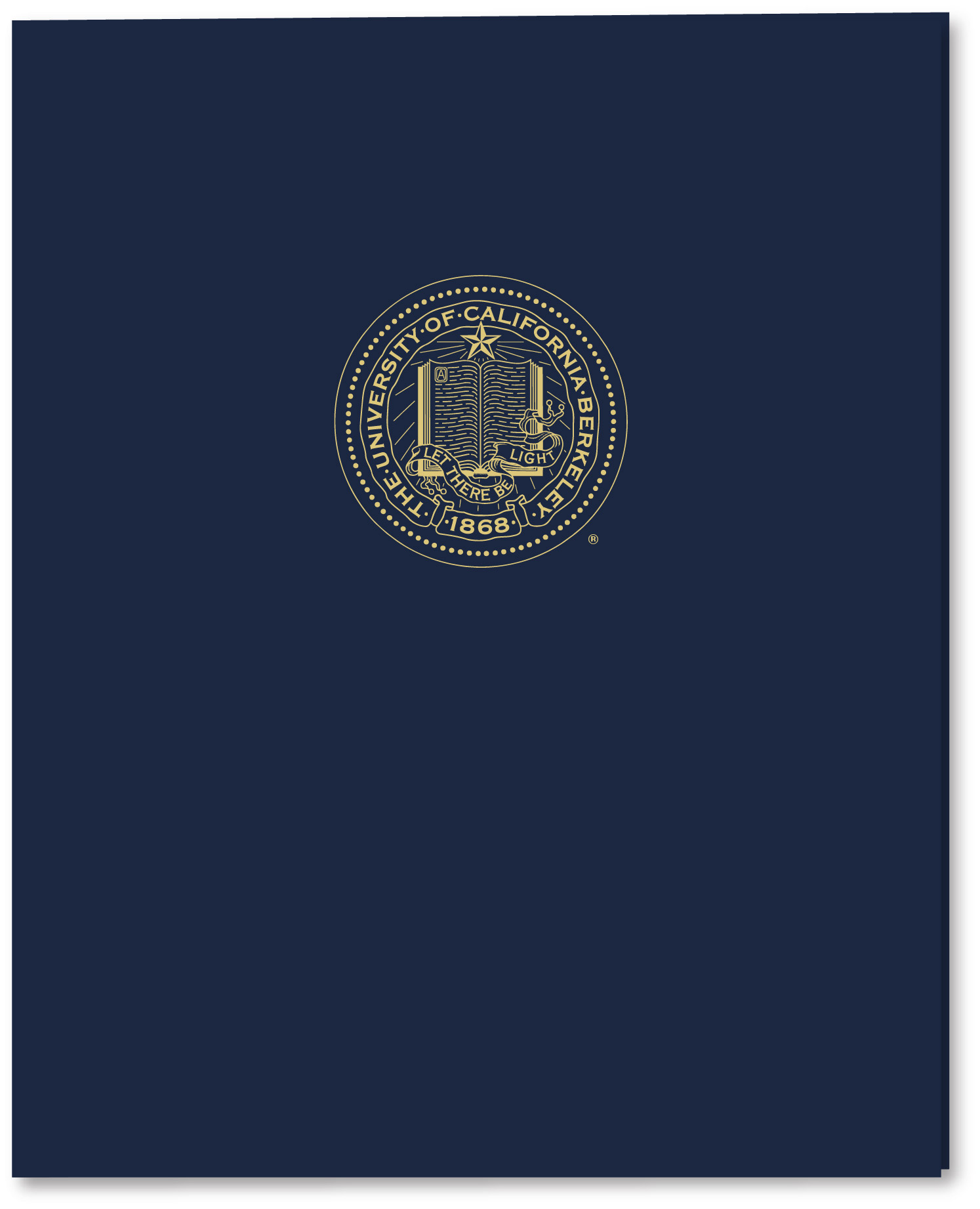 Laminated Folders with Seal
