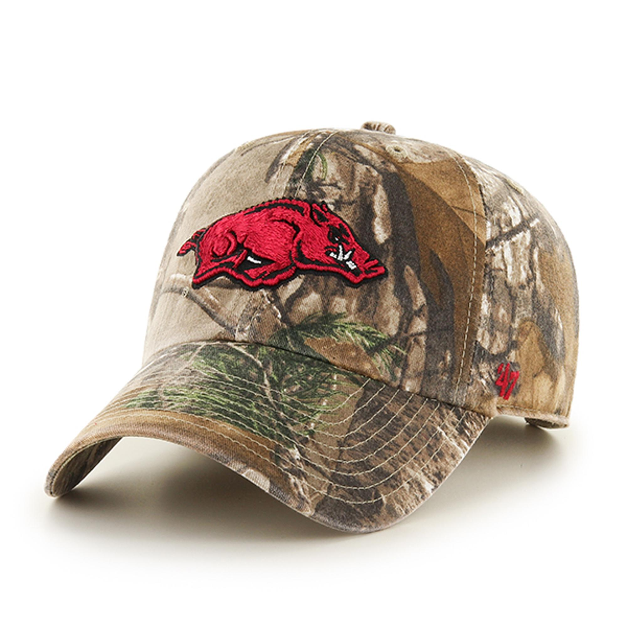 image of: Arkansas Razorbacks '47 Running Hog Hat - Realtree Camo