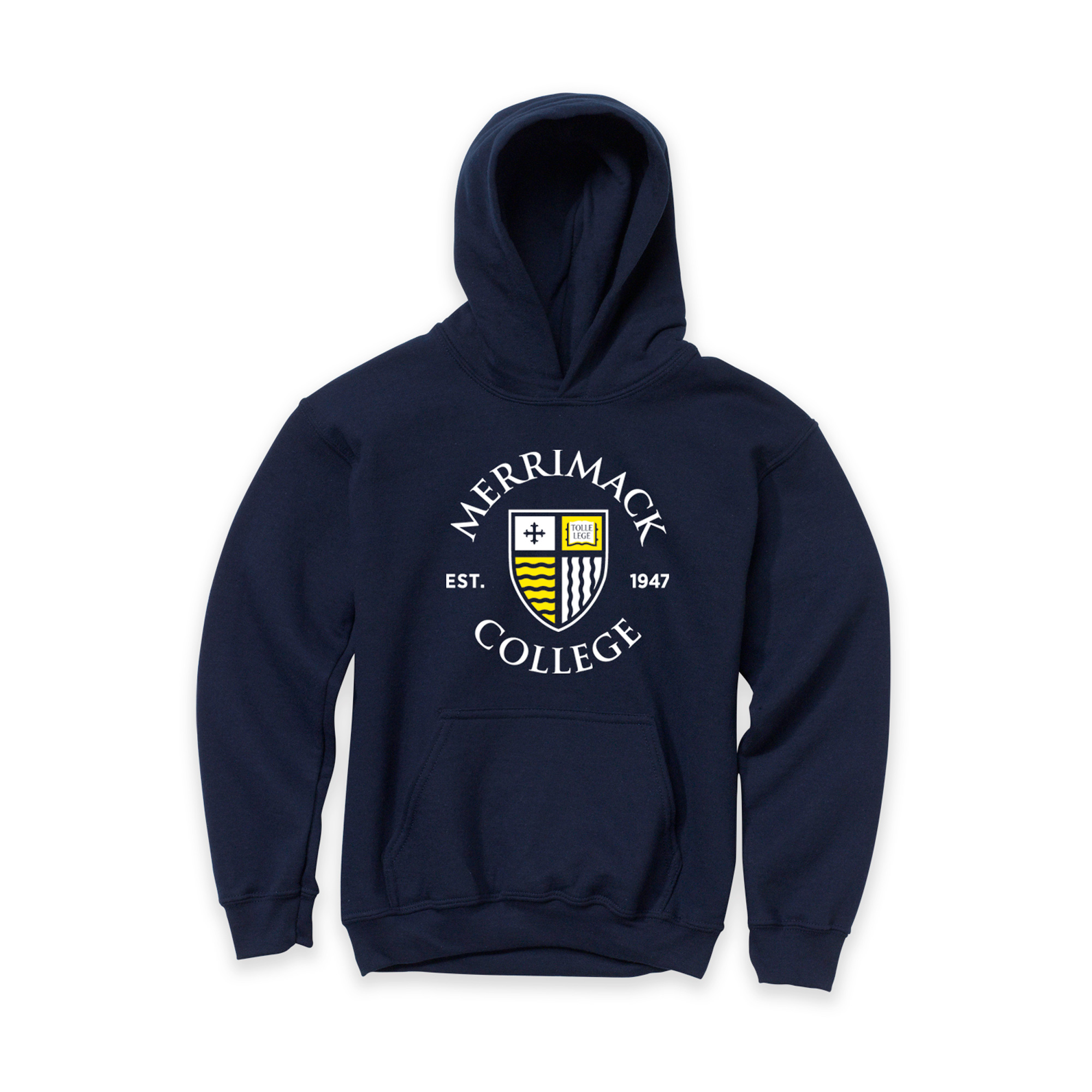 Navy Youth Hoodie