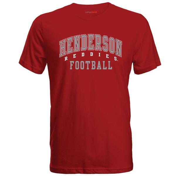 Henderson Reddies Football Cruiser Tee