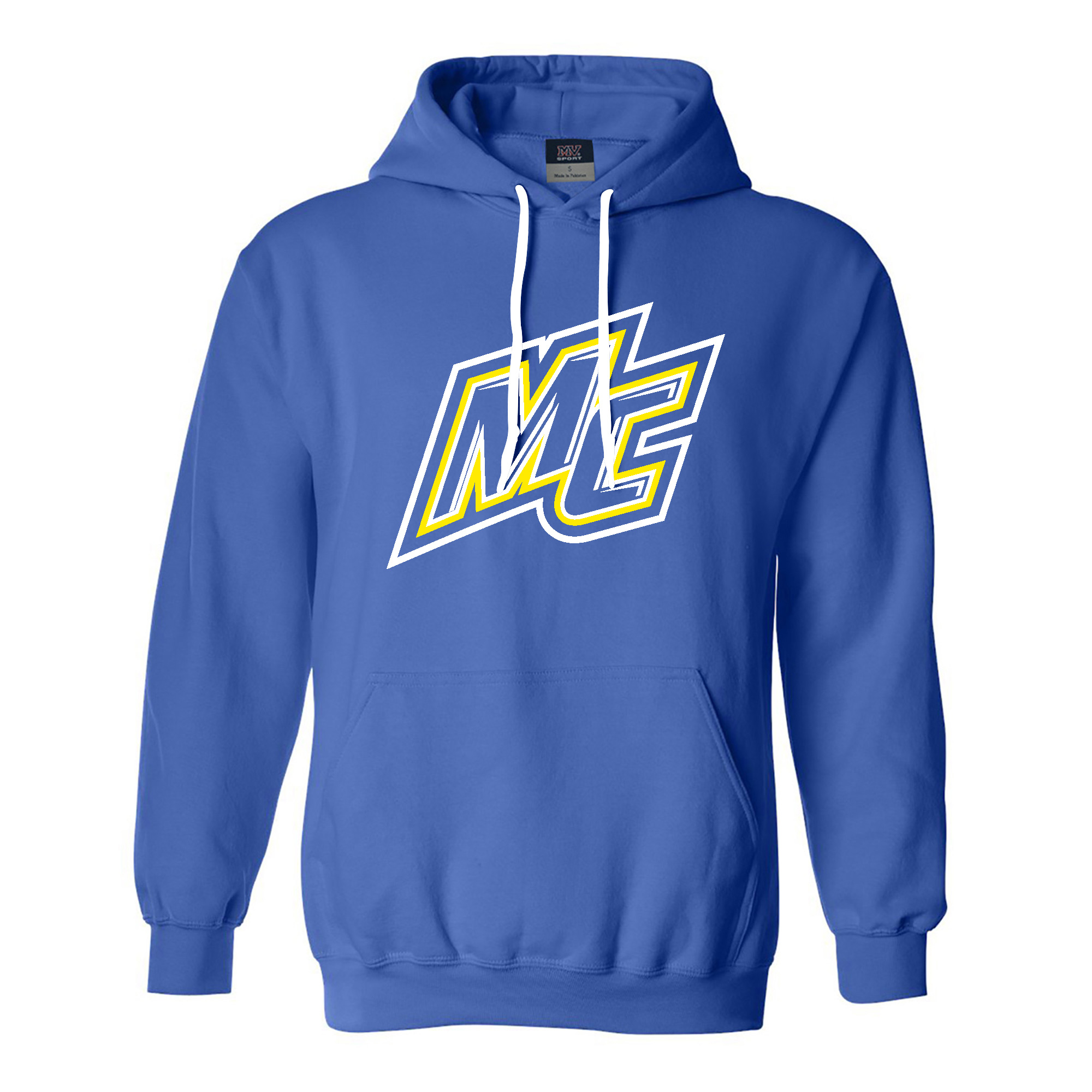 Royal Blue MC Comfort Fleece Hood