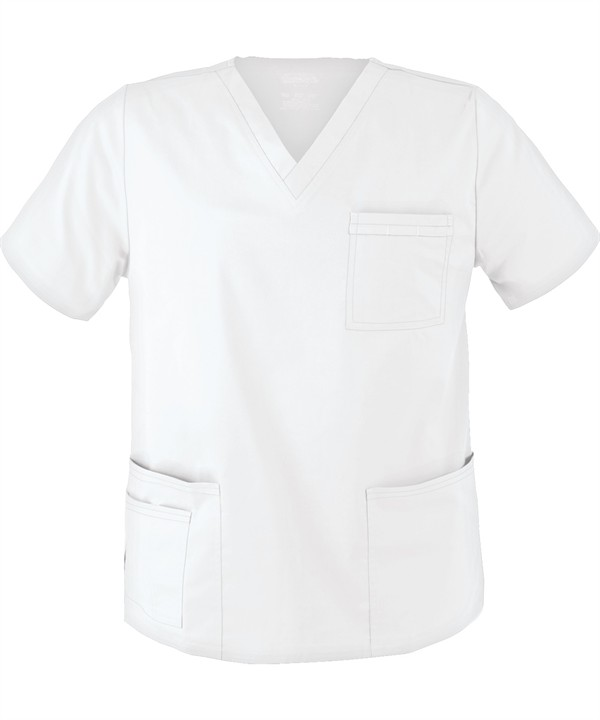 White Scrub Top (Unisex)