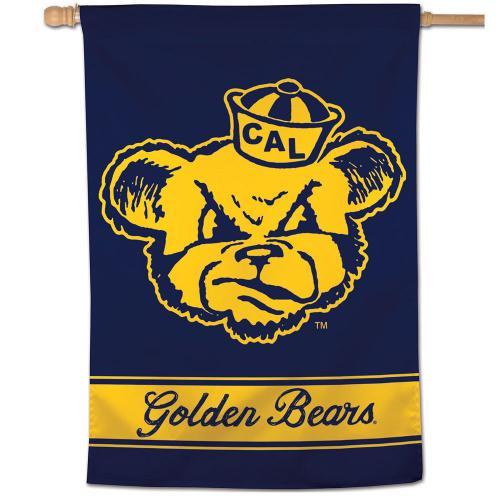 "Cal Bears Vintage Oski Vertical Flag 28""x40"""