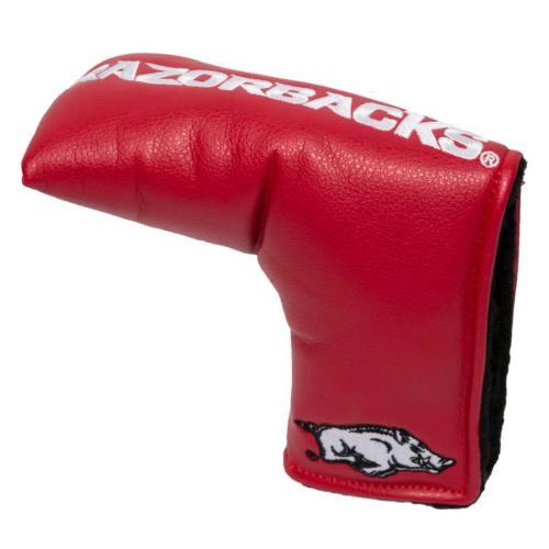 Arkansas Raorbacks Vintage Blade Putter Cover - Crimson