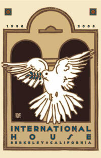 International House 75th Anniversary Commemorative Poster