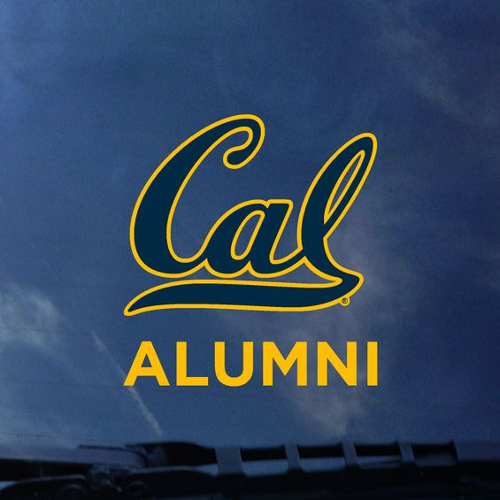 Car Decal Cal Alumni