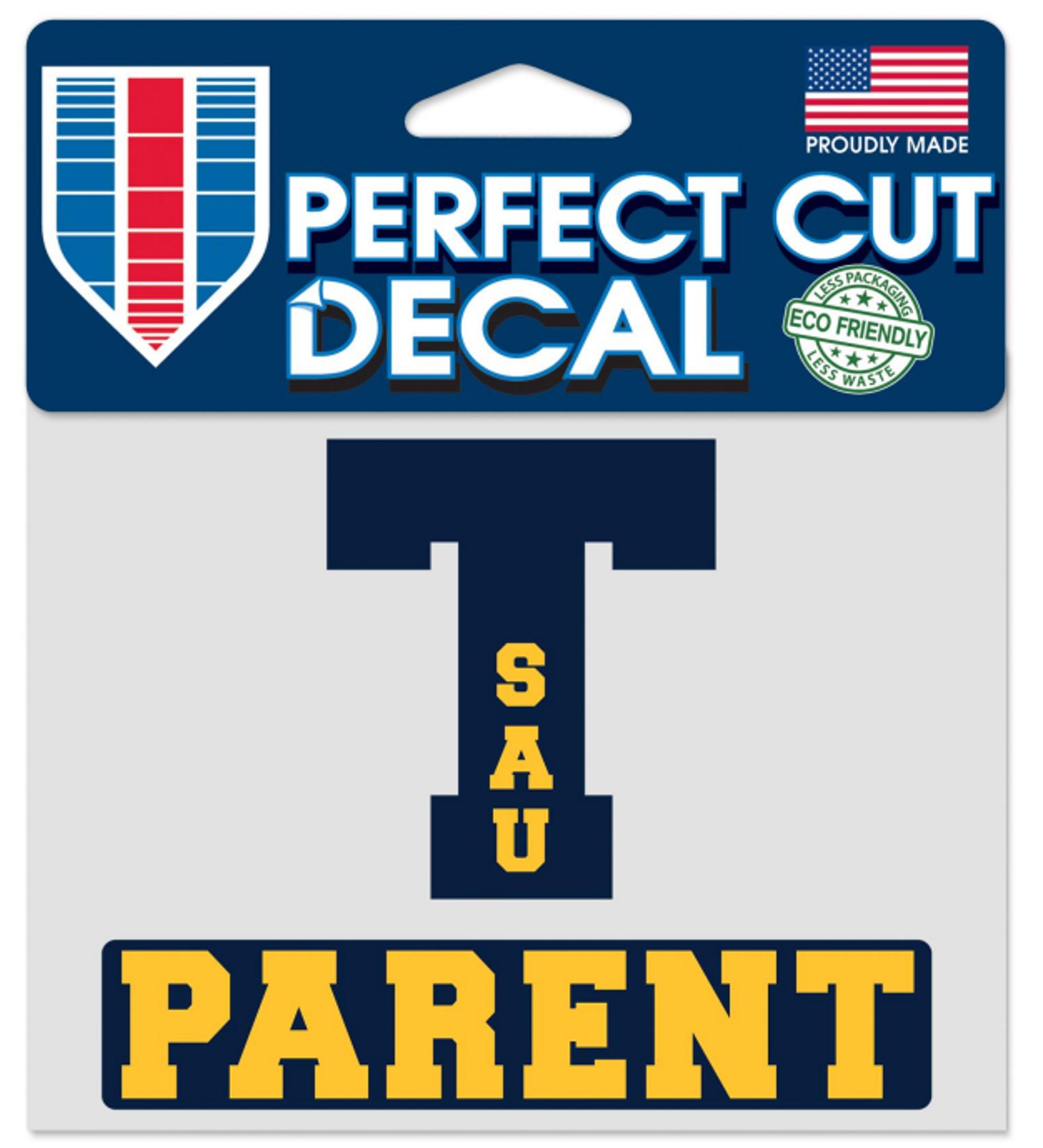 image of: SAU Tech Parent Perfect Cut Decal