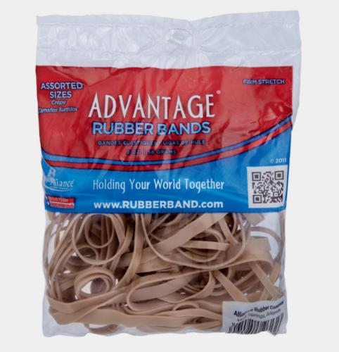 Advantage Rubber Bands Assorted
