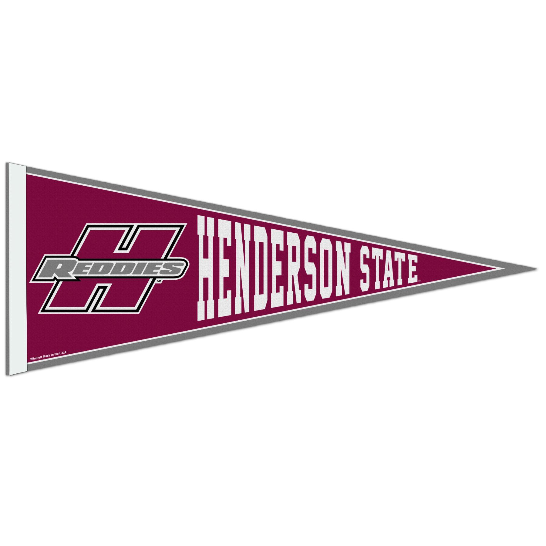 image of: Henderson State Reddies Pennant 12x30