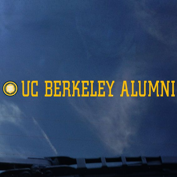 Car Decal UC Berkeley Alumni Strip