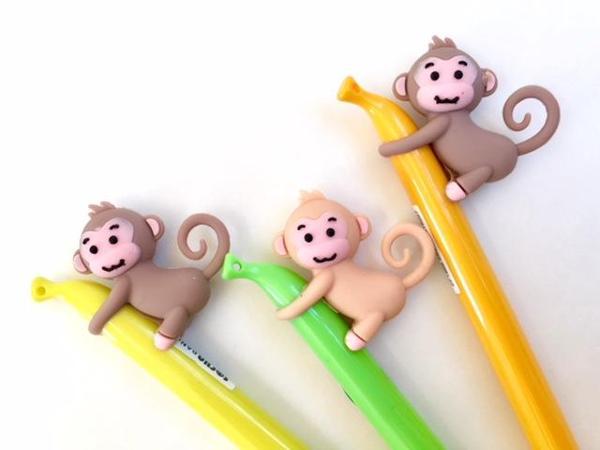 bcmini Monkey Banana Gel Pen