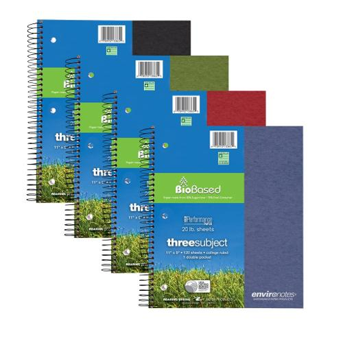 BioBased 3-Sub Notebook