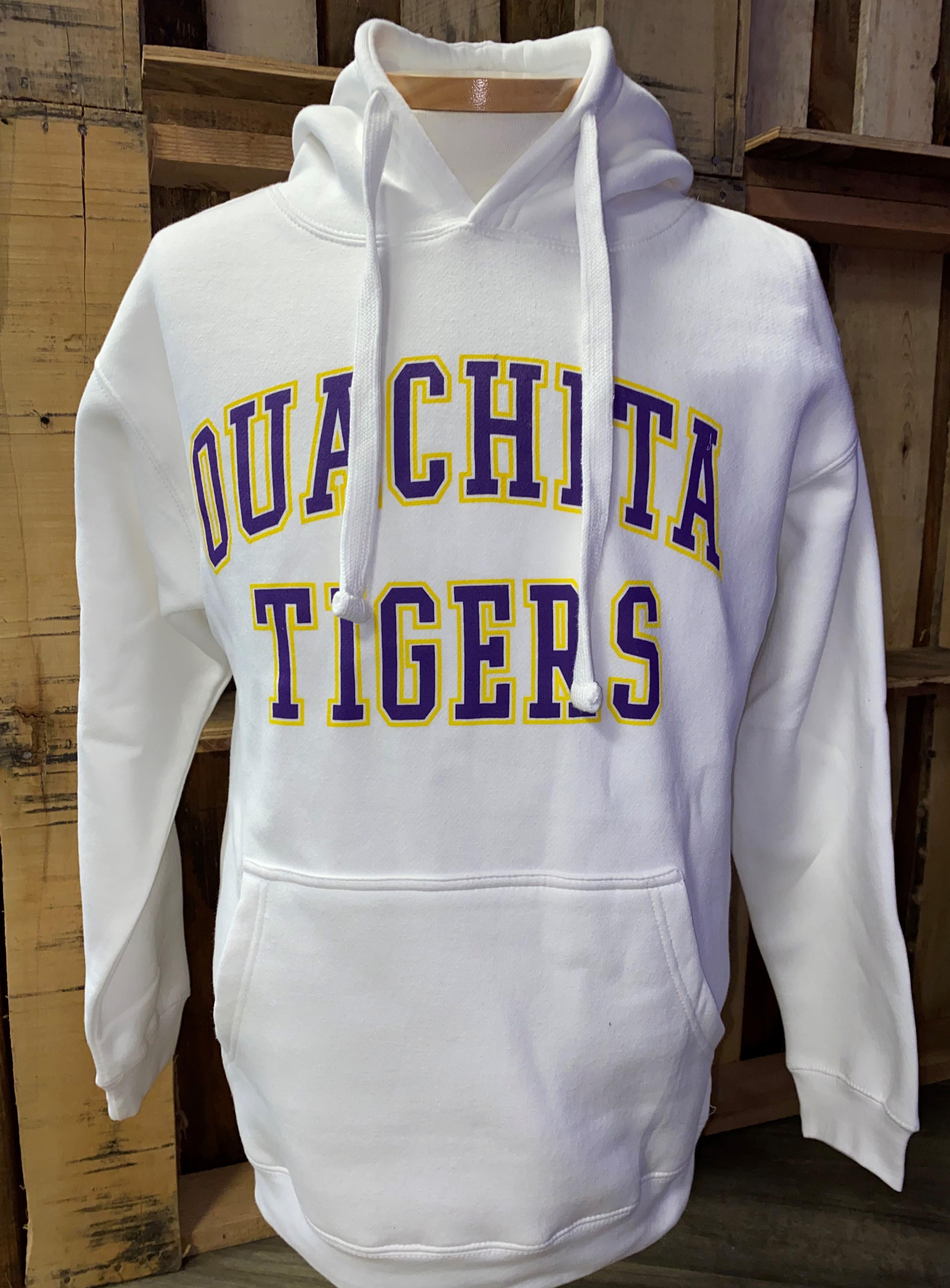 image of: OUACHITA TIGERS BENCHMARK HOOD