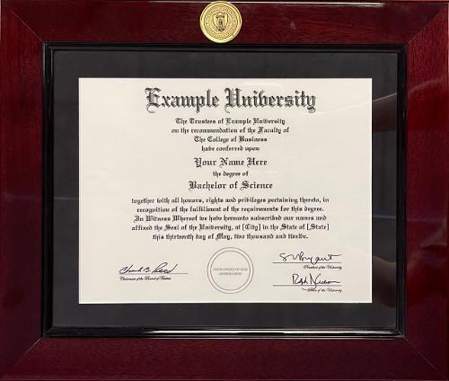 Diploma Frame Millennium