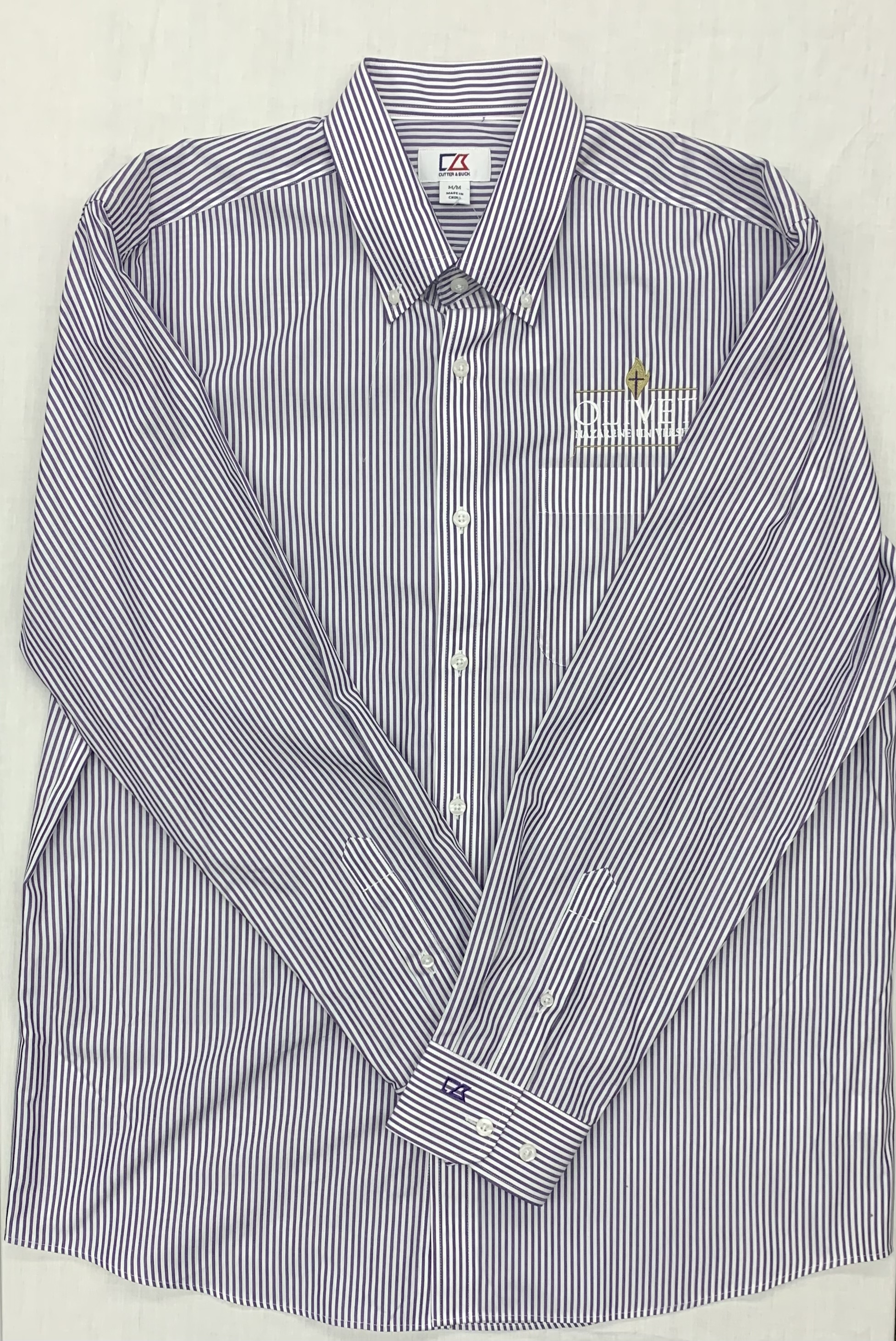 image of: Striped Men's Button Up