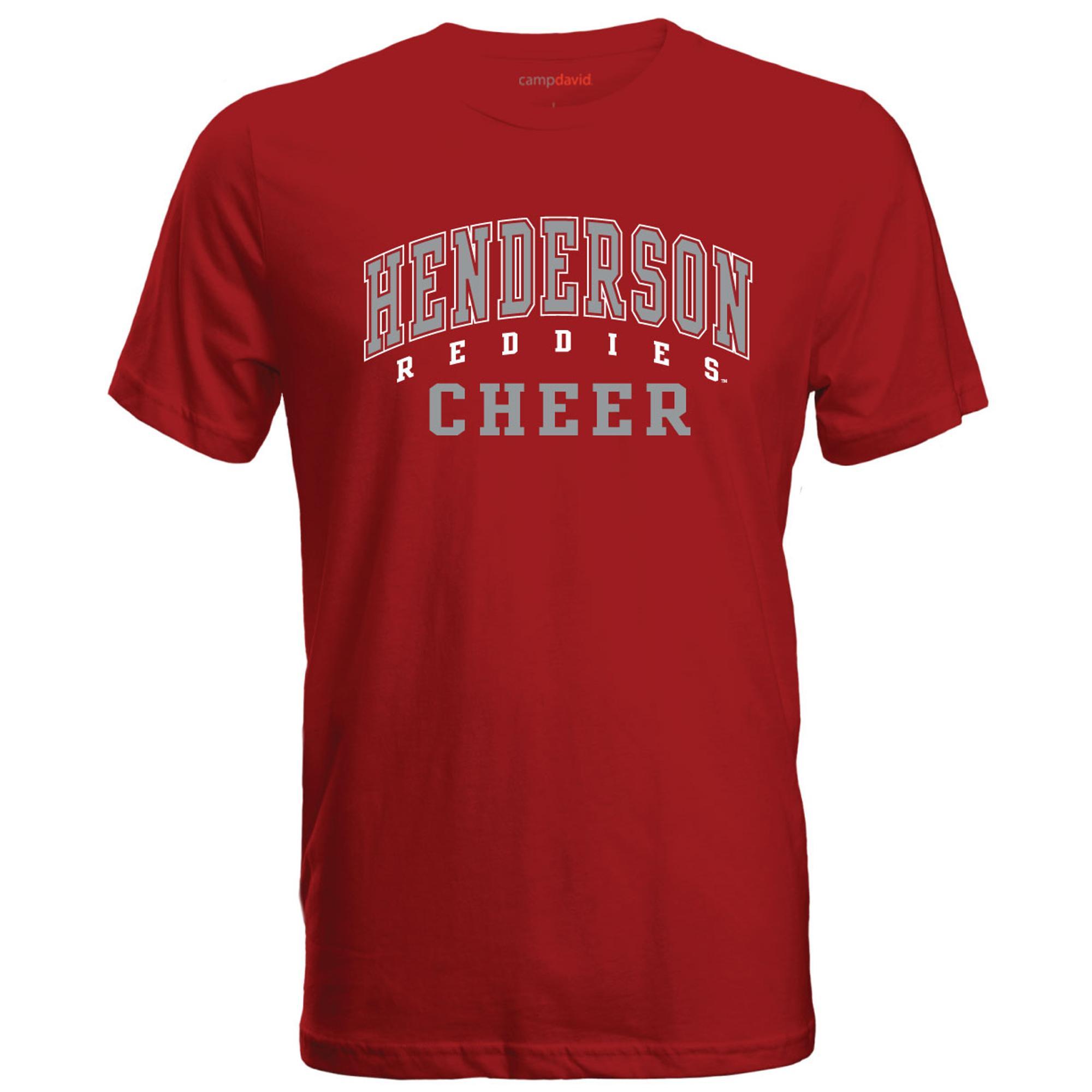 image of: Henderson Reddies Cheer Cruiser Tee