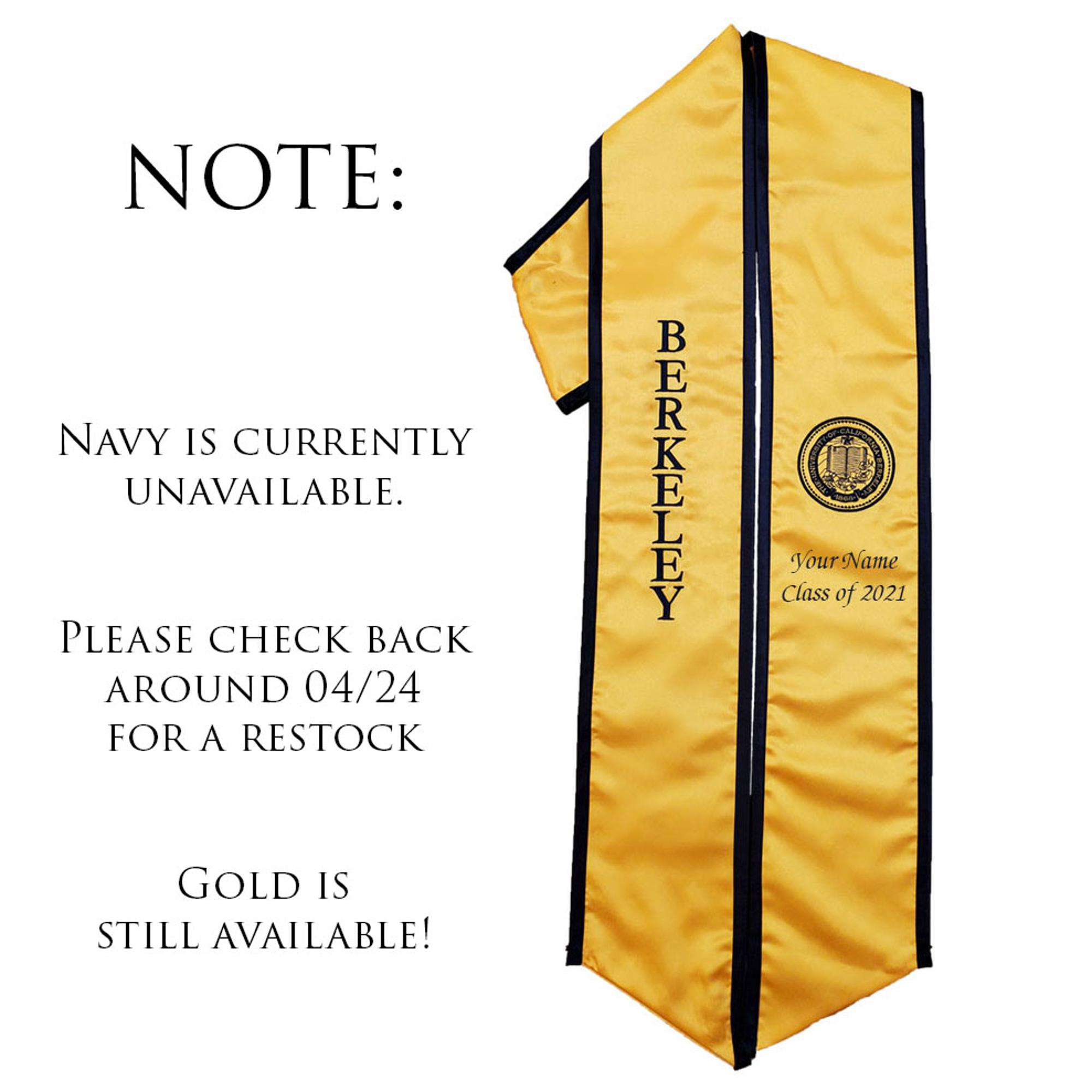 Image for Graduation Stole Customized