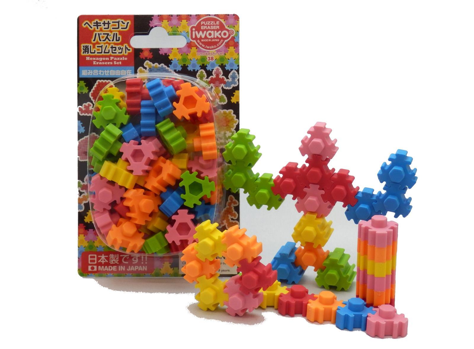 BCMini Iwako Hexagon Eraser