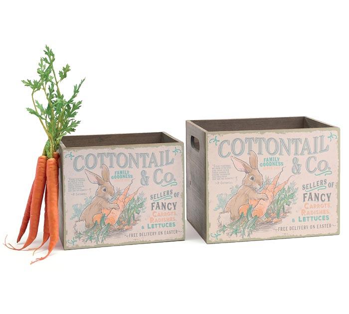 image of: Burton Planter Nested Cottontail