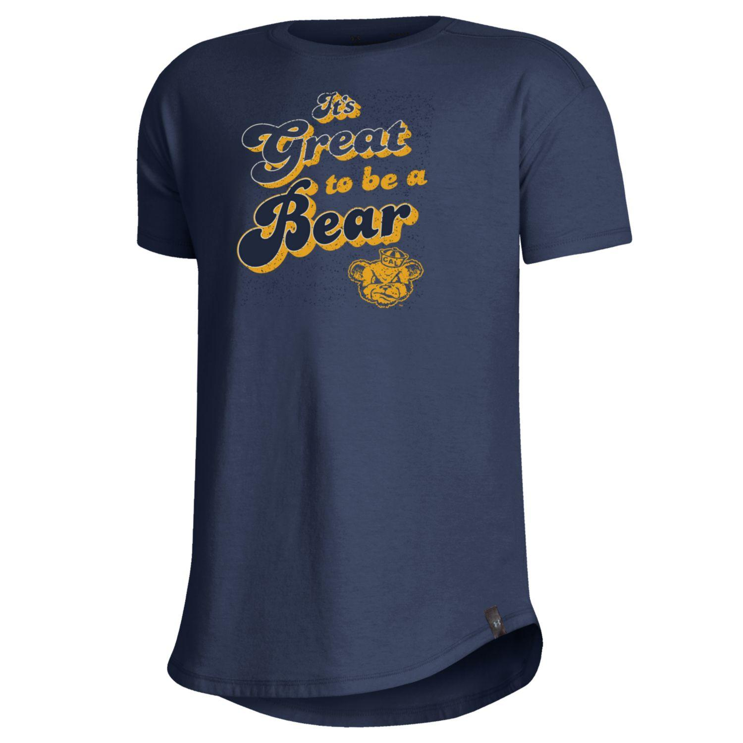 Youth G SS Tee Performance Cotton It's Great To Be A Bear Oski