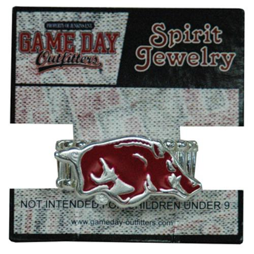 Arkansas Razorbacks Running Hog Stretch Ring