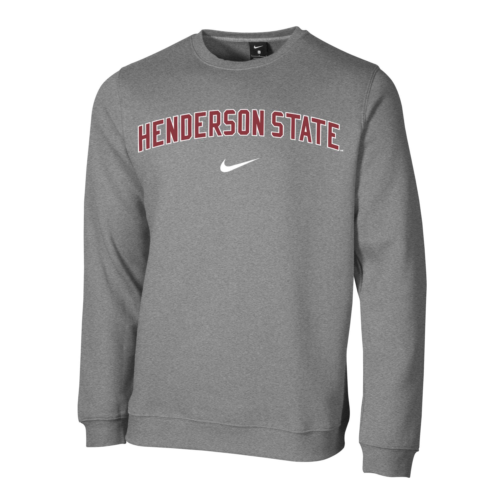 image of: Henderson State Nike Club Fleece Crew Sweatshirt
