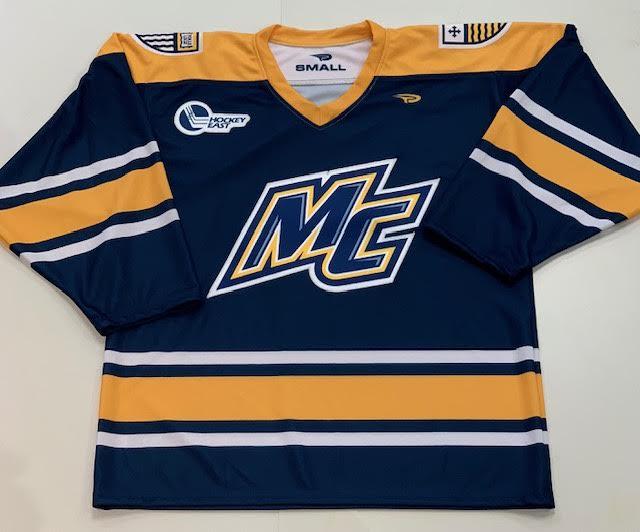 image of: Adult Navy Hockey Jersey