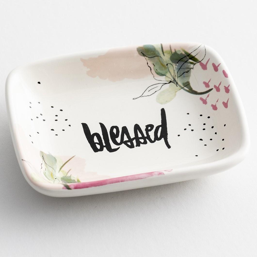 image of: DaySpring Blessed Trinket Dish