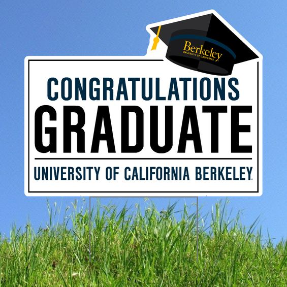 Lawn Yard Sign UC Berkeley Alumni