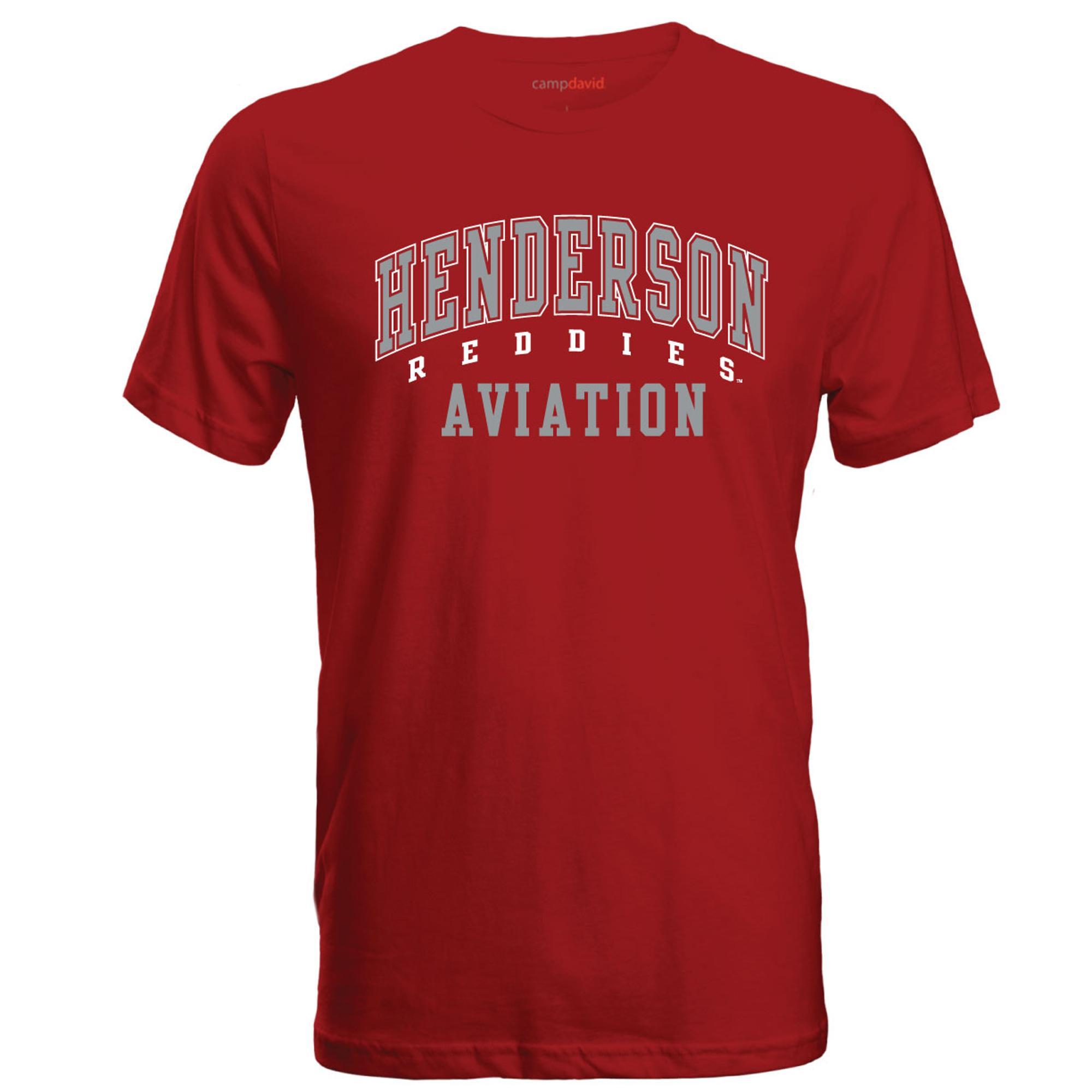 image of: Henderson Reddies Aviation Cruiser Tee