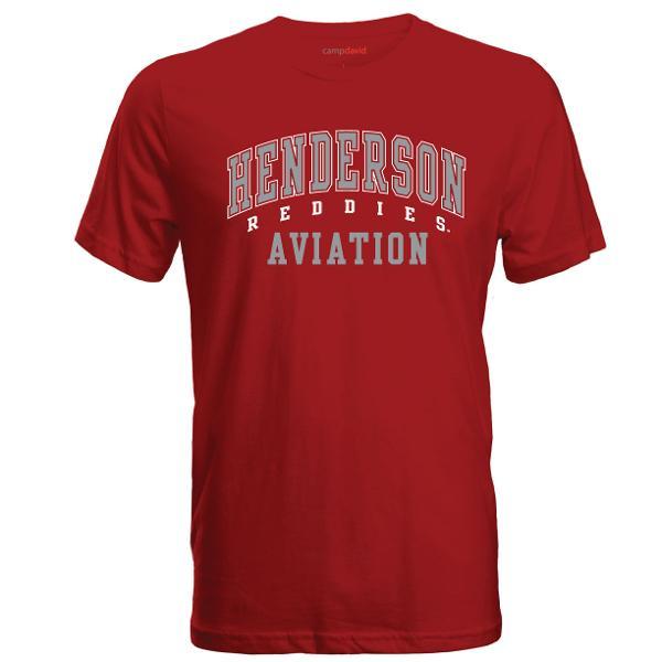 Henderson Reddies Aviation Cruiser Tee