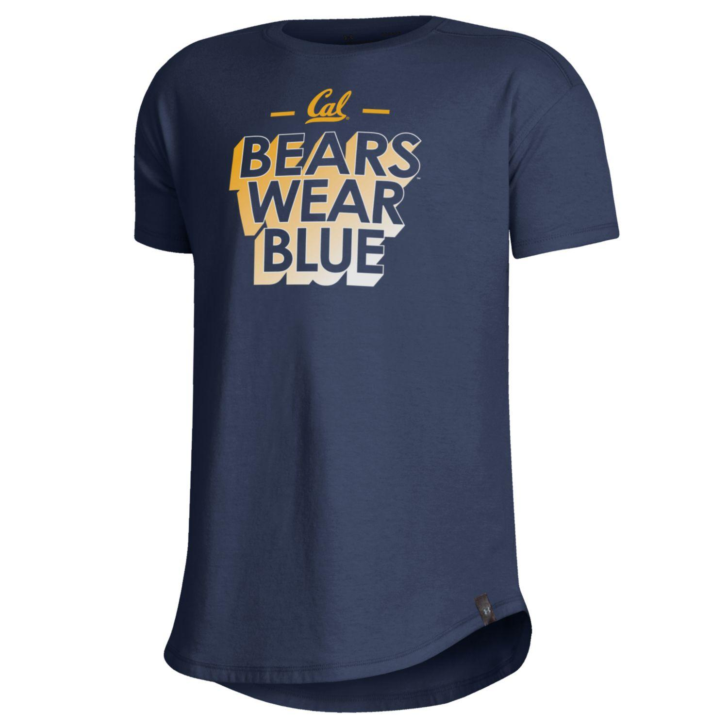 Youth G SS Tee Performance Cotton Bears Wear Blue
