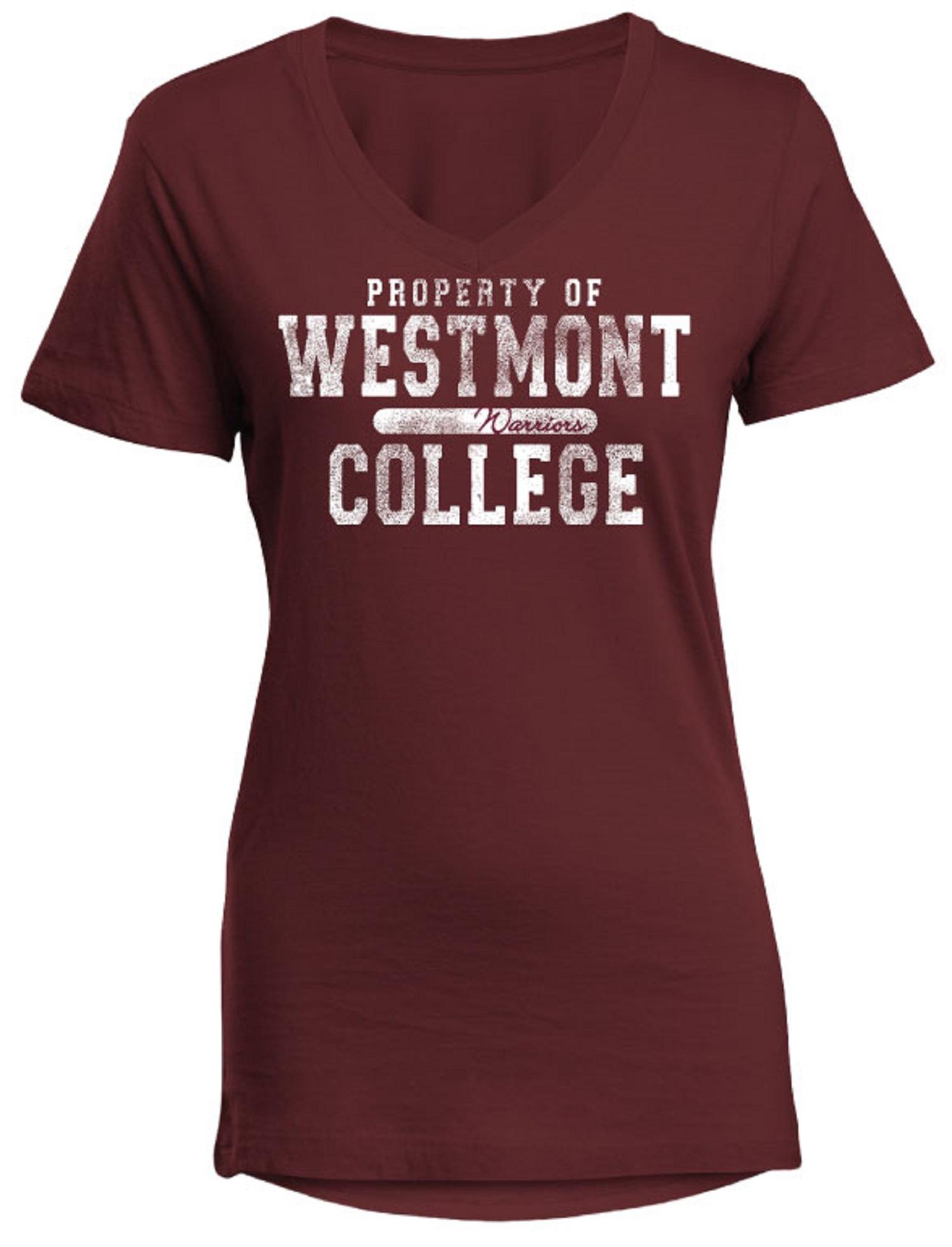 image of: **SALE** Camp David Women's Property of Westmont College V-Neck
