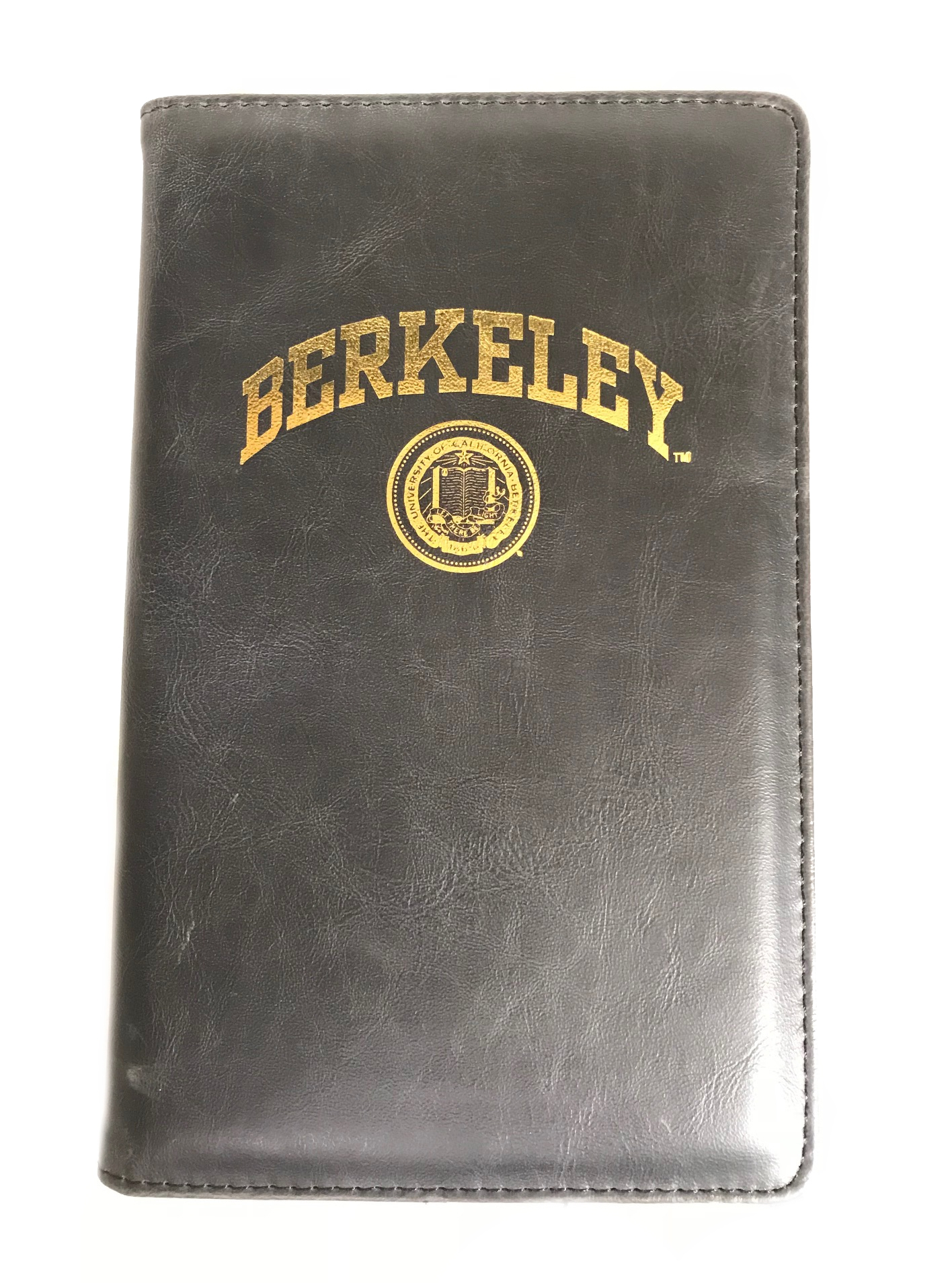 Vintage Soft Cover Notebook Journal Seal Logo