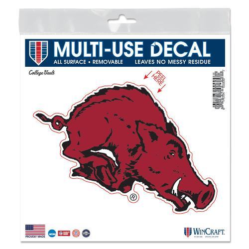 Arkansas Razorbacks Wincraft Vintage All Surface Decal