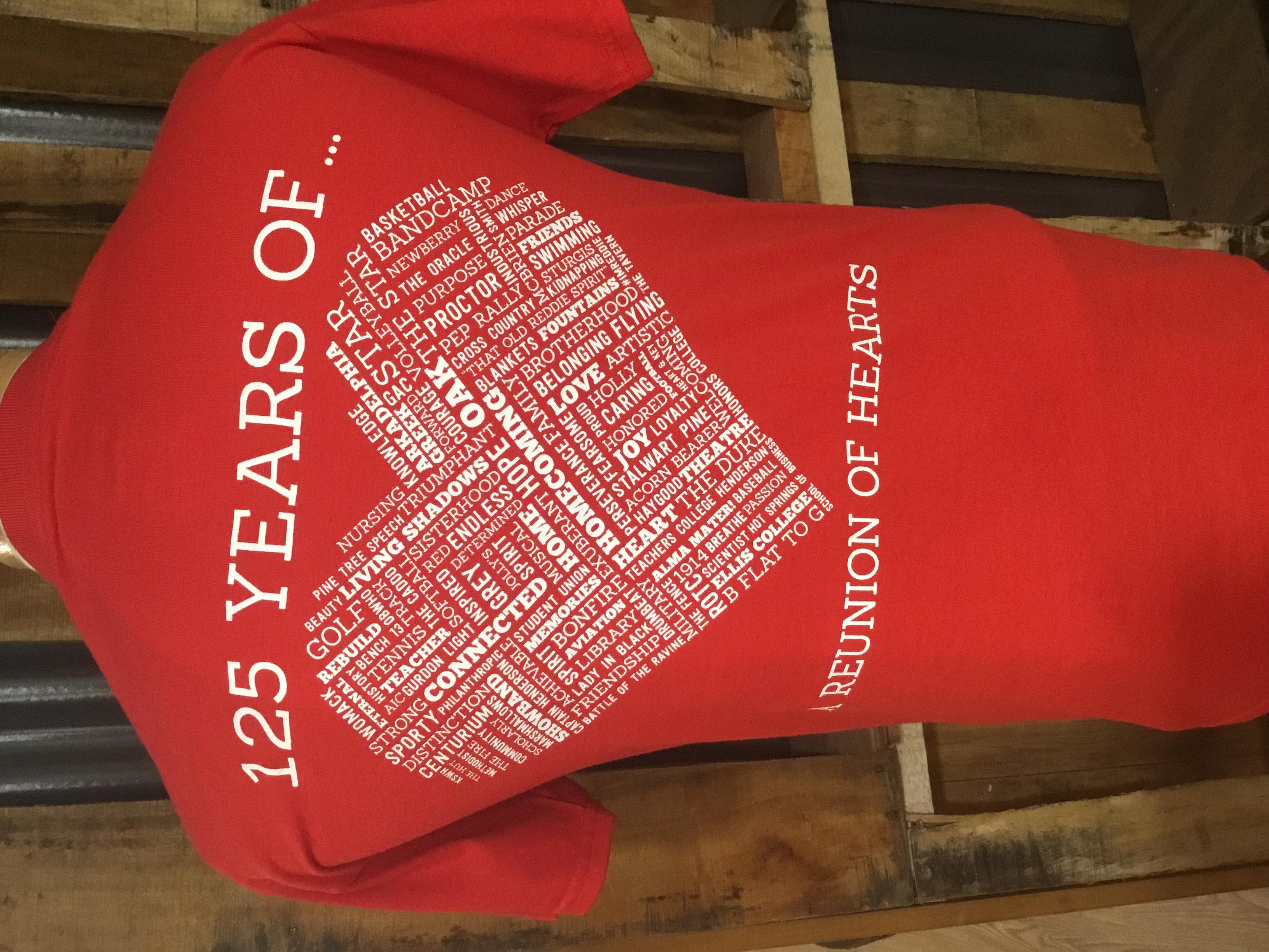 image of: 2015 Homecoming Short Sleeve T-Shirt
