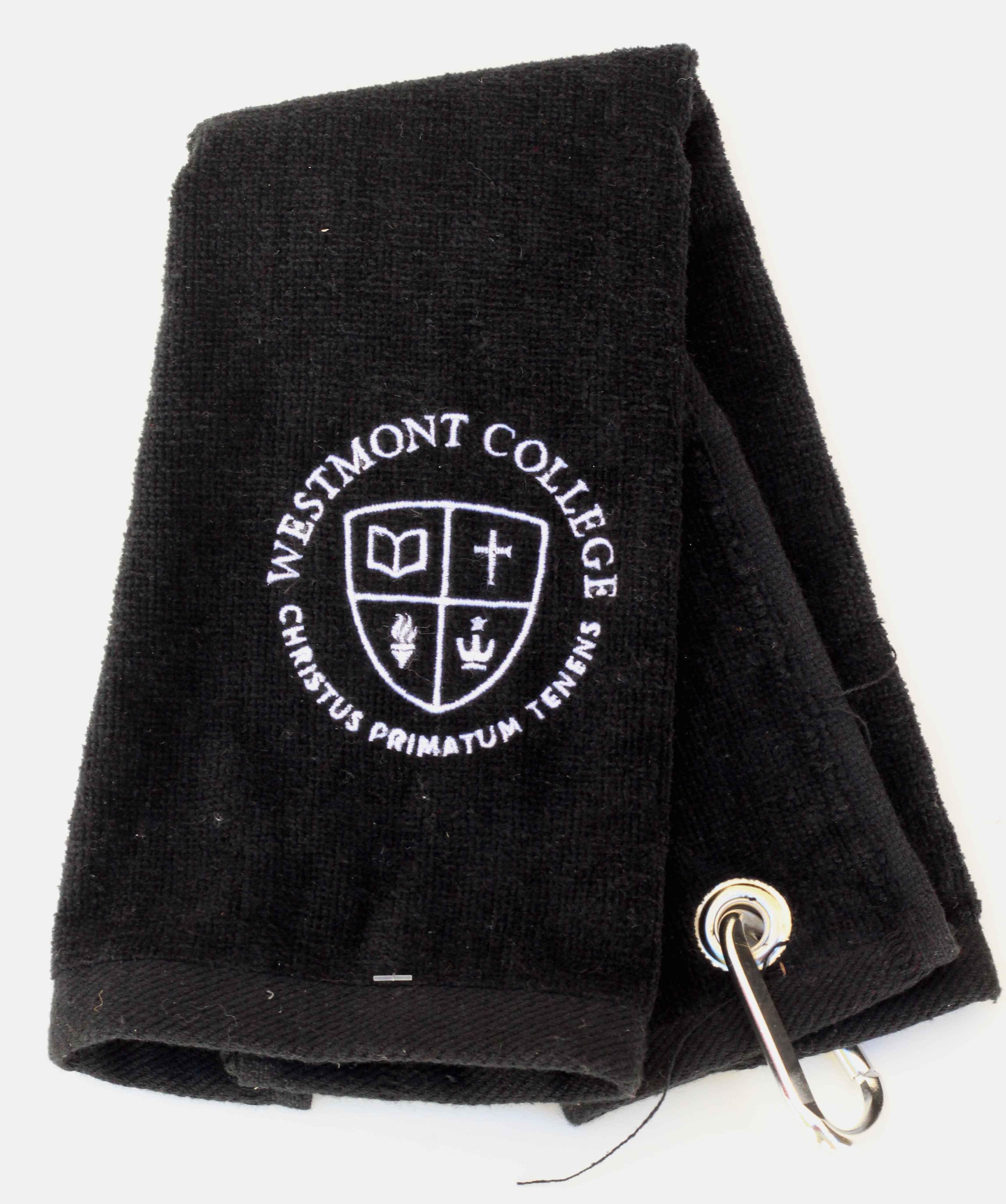 image of: *** SALE *** Spirit Westmont Golf Towels Black