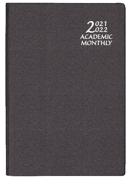 2021-2022 Frosted Academic Monthly Planner 7x10 - Assorted Colors