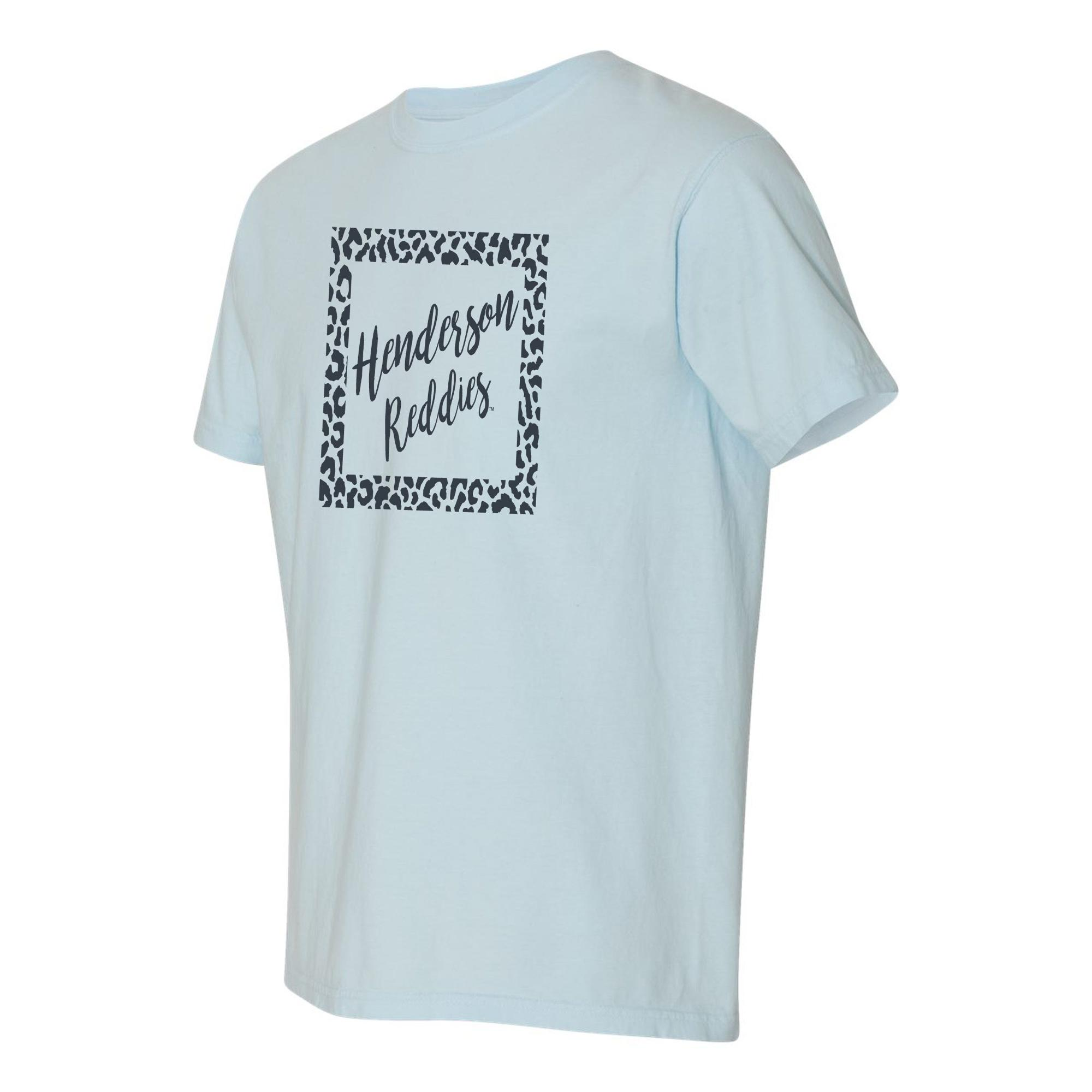 image of: Henderson Reddies Leopard Block Short Sleeve T-Shirt