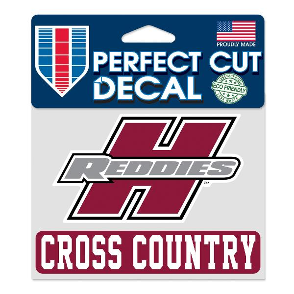 """Henderson Reddies 4"""" x 5"""" Cross Country Perfect Cut Decal"""