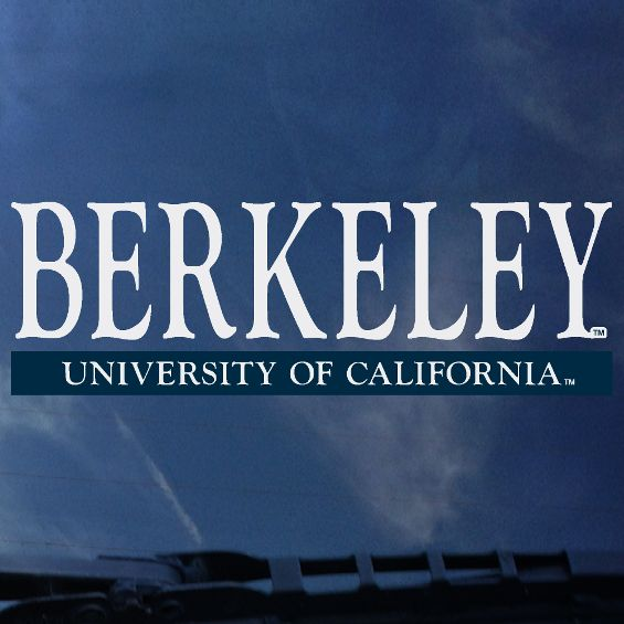 Color Shock Decal Berkeley over U Cal