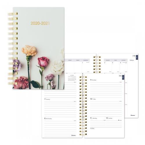 Academic Weekly Planner 2020-2021 Floral