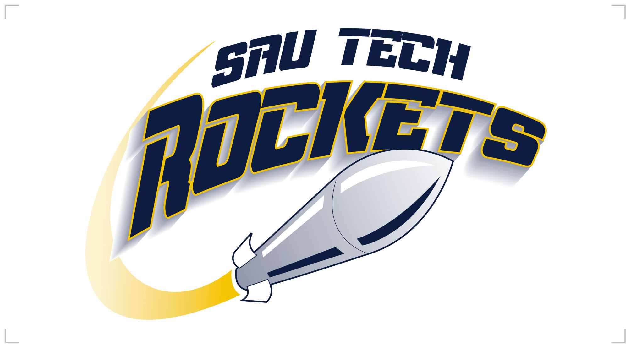 SAU Tech Rockets Decal
