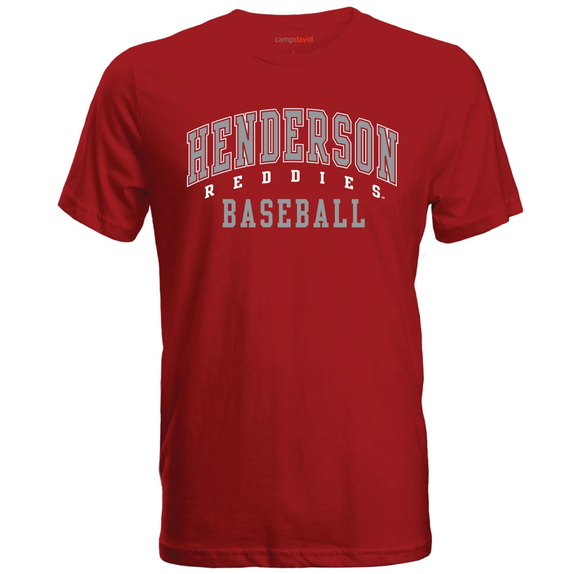 image of: Henderson Reddies Baseball Cruiser Tee