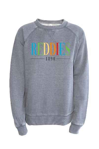 Reddies 1890 Vintage Washed Boyfriend Crew Sweatshirt