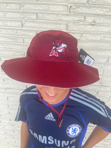 Arkansas Razorbacks '47 Vintage Panama Pail Bucket Hat - Cardinal