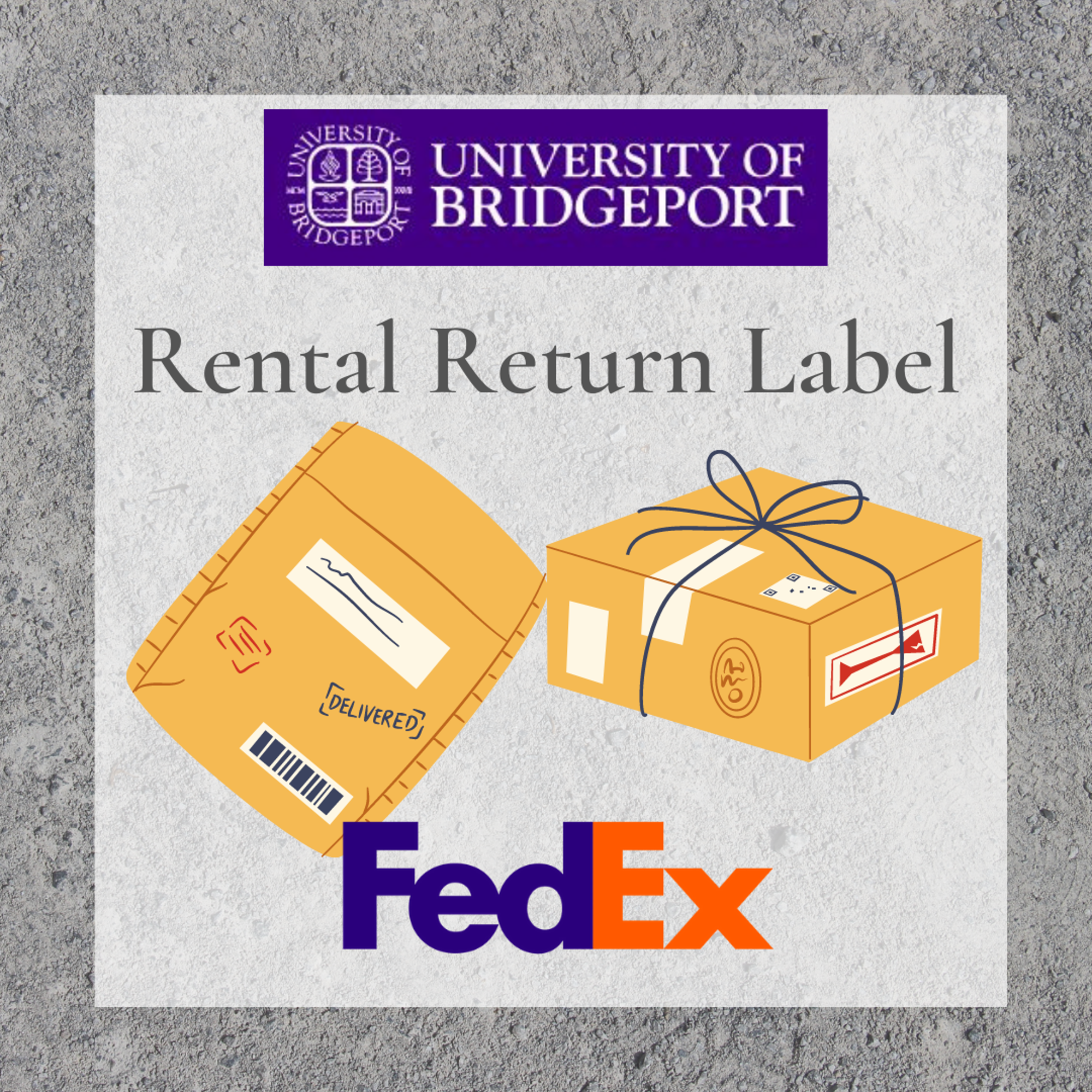 Image for Rental Return Label