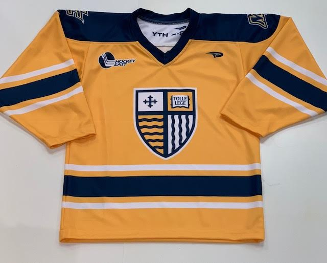 image of: Adult Gold Hockey Jersey