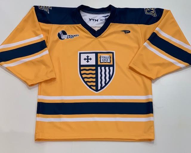 Adult Gold Hockey Jersey